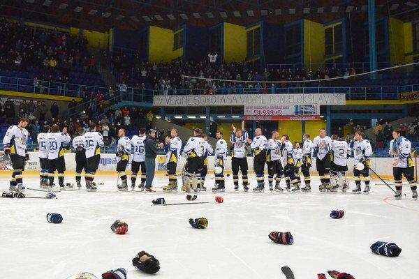 Spišiaci skončili vo finále. Do baráže postúpila Detva, spišskonovoveskí hokejisti aj tak zožali od divákov obrovský aplauz.