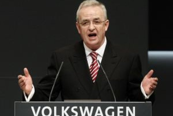 Šéf koncernu Volkswagen Martin Winterkorn.