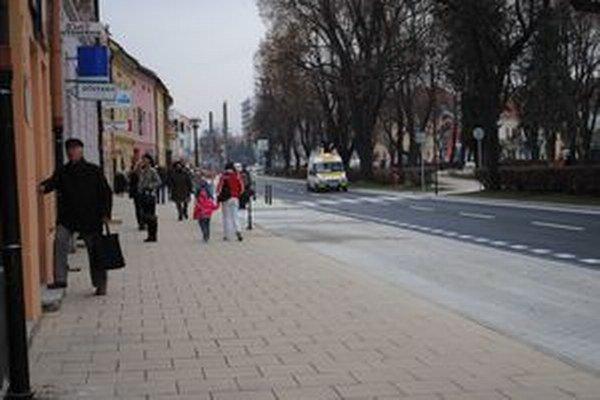 Centrum Spišskej Novej Vsi.