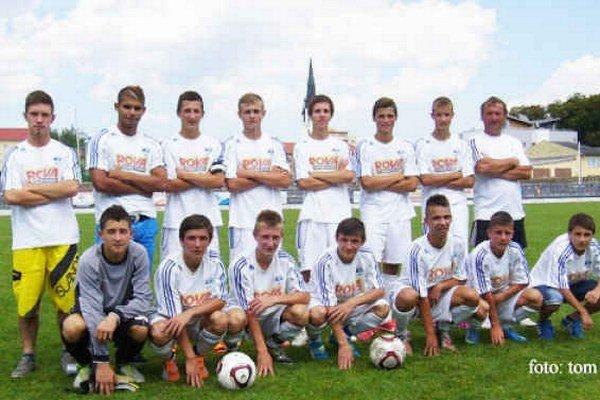 Líder súťaže. Mladším dorastencom FK Spišská Nová Ves sa v jeseni darilo veľmi dobre.
