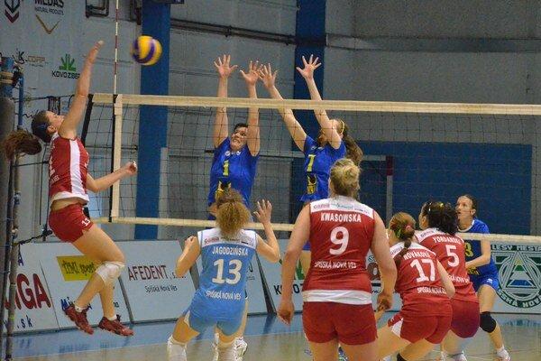 Výborný ženský volejbal. V poslednom domácom vystúpení sa Spišiačky proti Kežmarčankám lúčili perfektným výkonom a výsledkom.