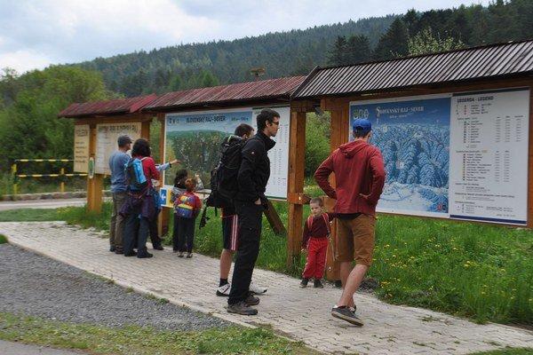 Otvorenie sezóny. Do Raja cez víkend prišlo veľa turistov.