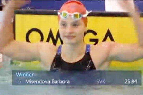 Majsterka sveta. Novovešťanka Barbora Mišendová dosiahla na juniorskom svetovom šampionáte skvelý úspech.