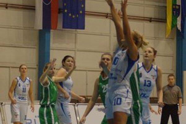Dva veľké zápasy. Basketbalistky Spišskej Novej Vsi čakajú dve významné vystúpenia na domácej palubovke.