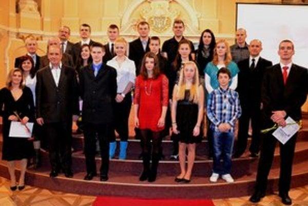 Najlepší zo Spiša. peNajsilnejšia konkurencia bola hlavne u mladých športovcov.