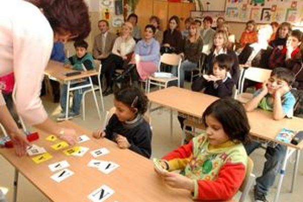 Na segregáciu rómskych detí upozornila AI v tomto školskom roku.