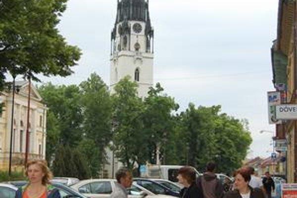 Najvyššia kostolná veža na Slovensku.