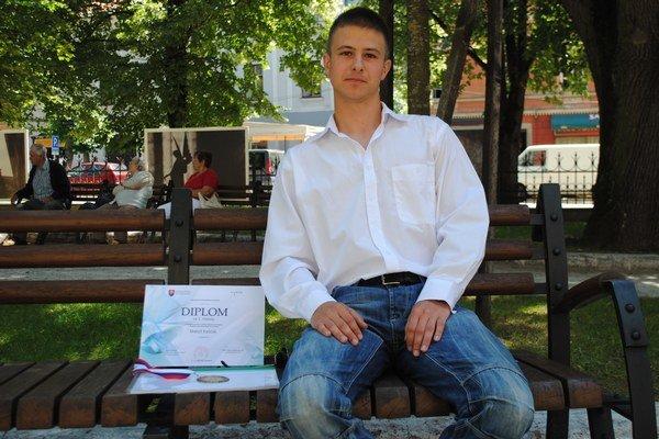 Matúš trikrát zvíťazil v celoslovenskej olympiáde.