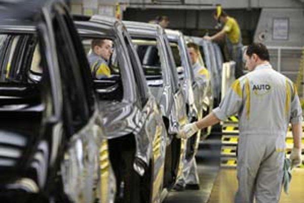 Automobilový priemysel - ilustračná fotografia.