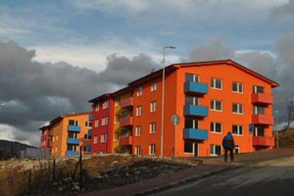 Nové byty vyrástli za pol druha roka na Maurerovej ulici.