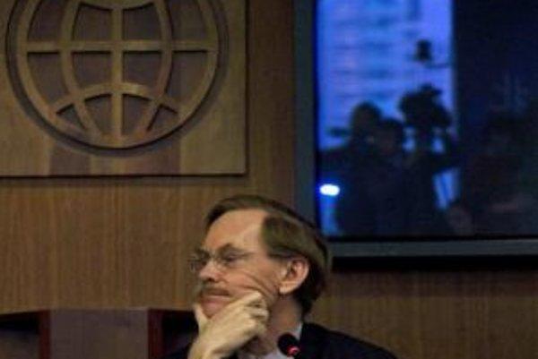 Šéf Svetovej banky Robert Zoellick.