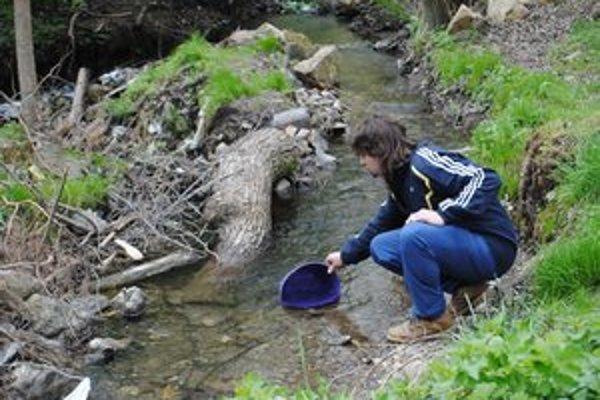 Domácnosti bez vody. Tarčania si pomohli blízkym potokom.