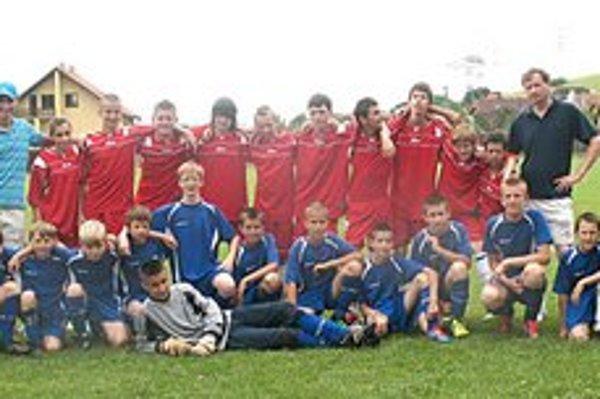 Dvadsaťdva žiakov. Máloktorý klub v obciach na Spiši sa môže pochváliť tak veľkým záujmom detí o futbal.