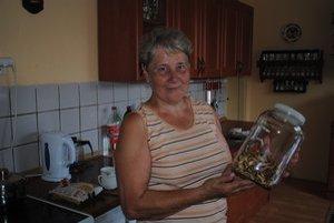 Mária Mrázová huby zvykne porozdávať, doma má už len posledné zásoby.