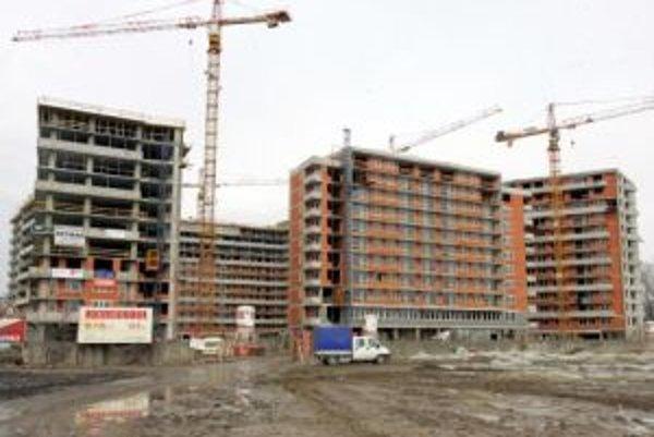 Bratislavský kraj jednoznačne vedie v bytovej výstavbe.