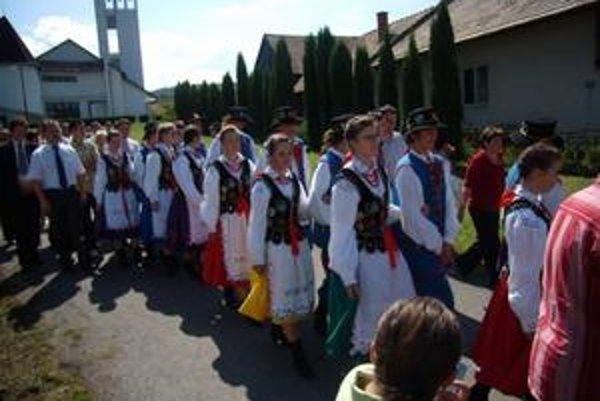 Goralské dni. Ponúkli domáci i zahraničný folklór.
