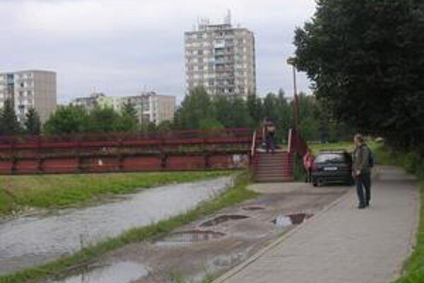 Nový most. Úverové zdroje chce mesto využiť aj na stavbu nového mosta na sídlisku Mier.