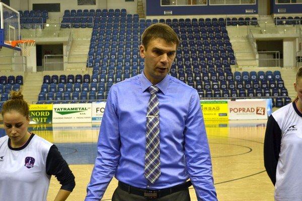 Tréner Skočovski. Poprad čakajú zápasy Slovenského pohára.