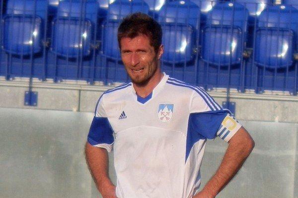Vladislav Palša. Kapitán tímu je pre mužstvo veľkým príkladom.