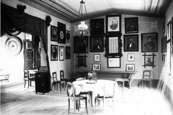 Kežmarská strelnica. Takto vyzeral interiér dnes už poslednej technickej pamiatky svojho druhu na Slovensku.