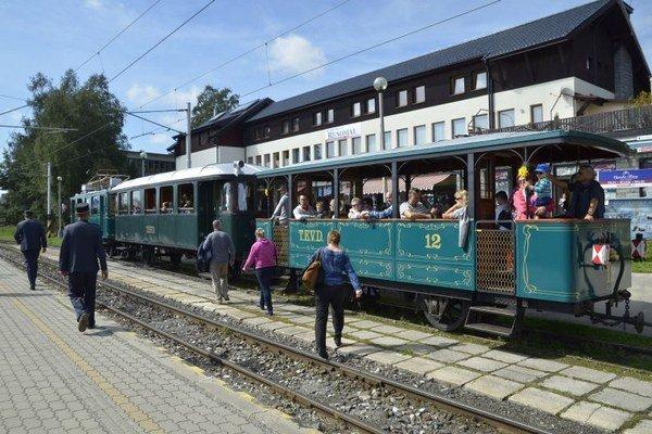 Stanica v Tatranskej Lomnici preje rekonštrukciou.