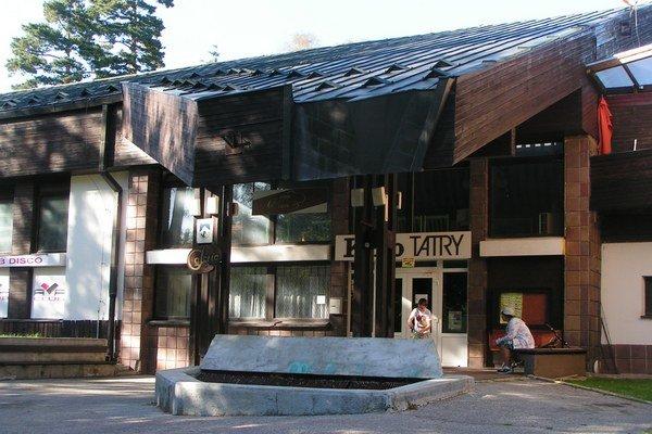 Kino Tatry. Budova už roky chátra.
