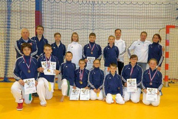 Zbierali medaily. CKK Poprad bol v Starej Ľubovni úspešný.