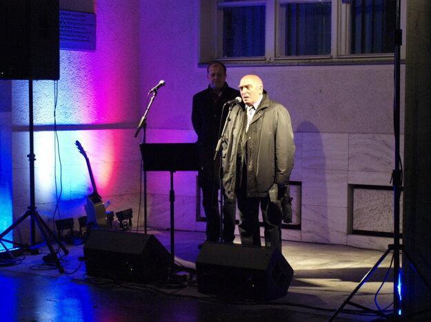 Príhovor Rudolfa Dobiáša.