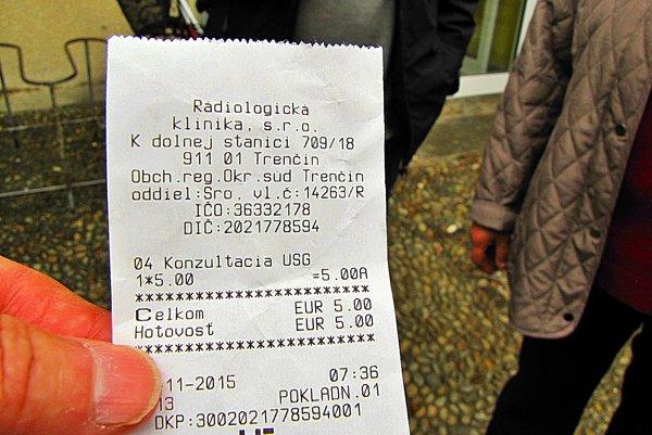 Konzultácia je za päť eur.