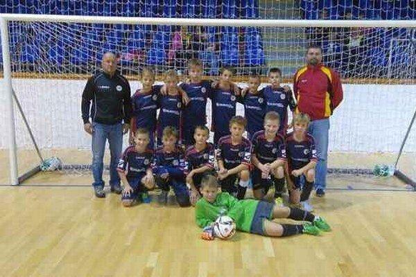 Mládežníci FAM Poprad. Na medzinárodnom turnaji sa herne nestratili.