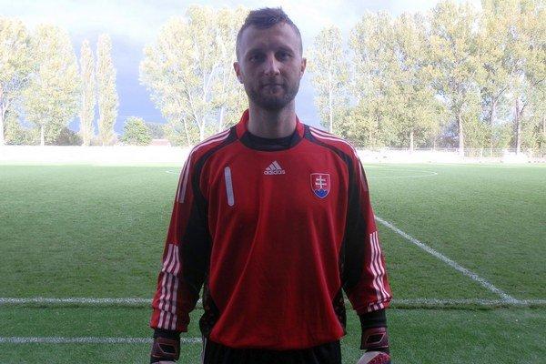 Igor Hájovský. Obliekol si reprezentačný dres.