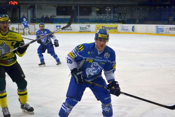 Arne Kroták. V zápase proti Nitre odohral už 1 100. zápas.