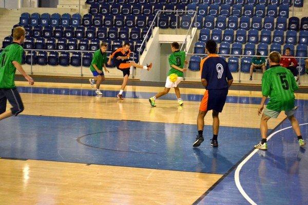 Aréna Poprad. Rozbehli sa v nej futsalové súťaže.