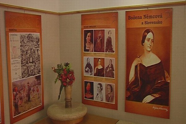Na Slovensko chodila za svojim mužom. Výstava opisuje celty Nemcovej na Slovensko