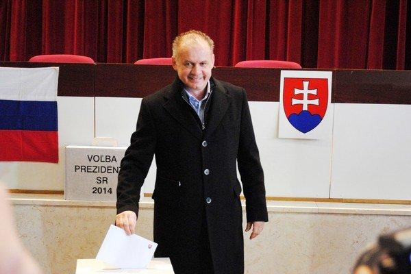Andrej Kiska. Podporilo ho 9 297 Popradčanov.