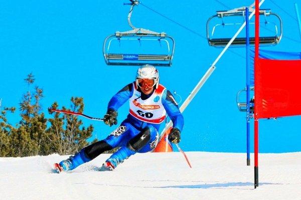 Martin Legutky ml. Po rokoch sa vrátil na lyžiarske svahy.
