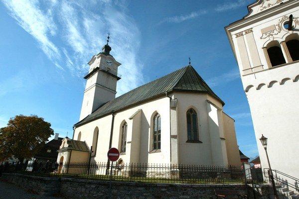 Kostol sv. Juraja v Spišskej Sobote.