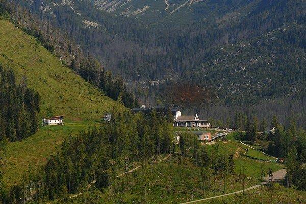 Na Hrebienku narátali v sobotu najviac turistov.