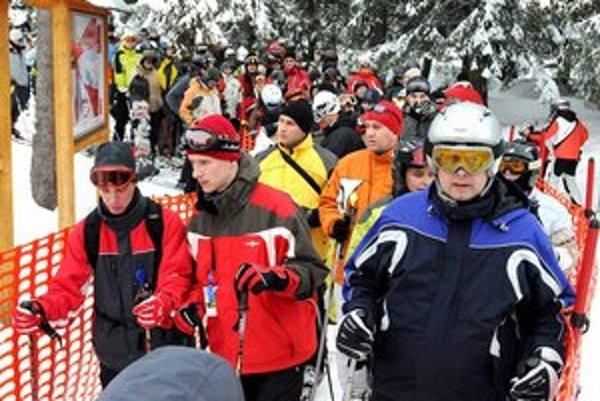 Tatry na prelome rokov zaplnia hlavne lyžiari.