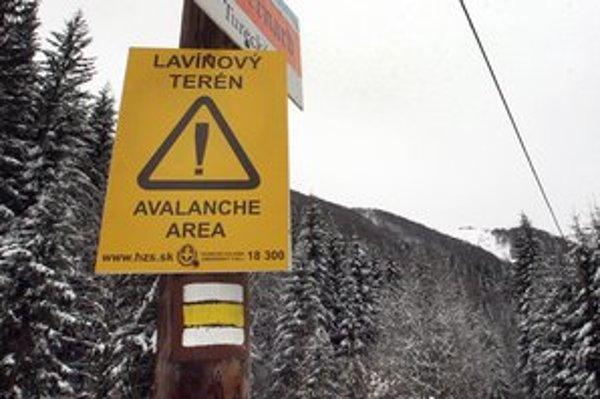 Kým vyrazíte na hory, zistite si najaktuálnejšie informácie o lavínovej situácii.