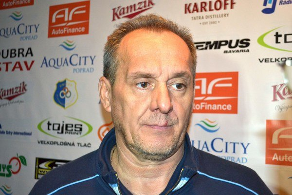 Milan Jančuška, tréner MsHK Žilina.
