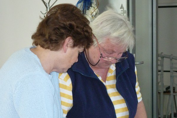 Batikovanie. Textilná technika prilákala predovšetkým ženy.