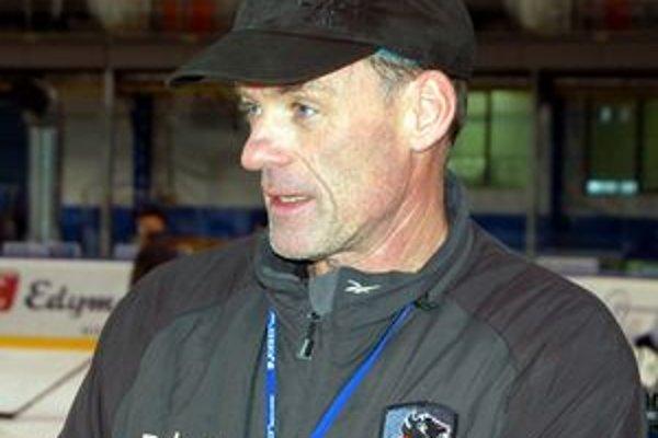 Tréner HC Lev Poprad Radim Rulík. Dnes jeho zverenci hostia lotyšskú Rigu.