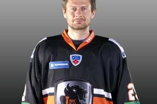 Karel Pilař. Zahrá si v zápase hviezd KHL.
