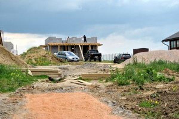 Nové domy. V Spišskej Sobote budú podliehať prísnym pravidlám.