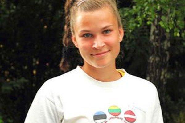 Stanka Lajčáková. Bola najúspešnejšia spomedzi trojice mladých podtatranských atlétov.