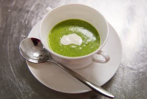 Krémová žeruchová polievka