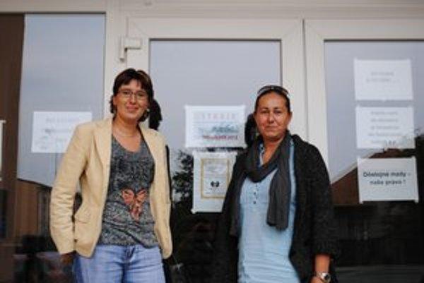 Maturity bežali podľa plánu. V štrajkovom výbore sedeli aj Zuzana Presperínová (vľavo) a Andrea Foltinská.