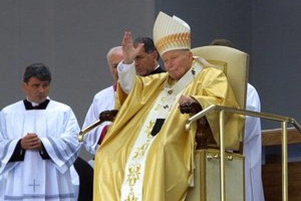 Pápež Ján Pavol II. Slovensko miloval.