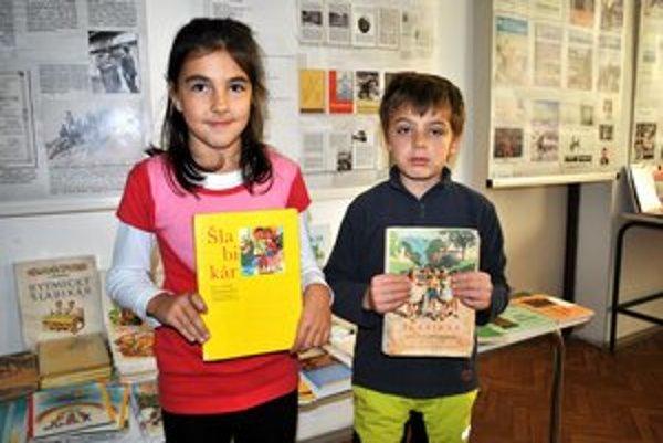 Zuzka a Samko. Šlabikáre ich inšpirovali k učeniu.